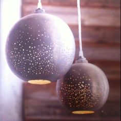 Roost perforated metal globe light