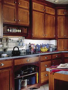 Colony Inset Cabinets from Bertch