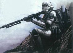 Star Wars Art Discover Images of stormtroopers This category is for images of stormtroopers. Starwars, Imperial Stormtrooper, Stormtrooper Art, Galactic Republic, Star Wars Concept Art, Star Wars Images, Star Wars Rpg, Star Wars Poster, Love Stars