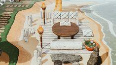 Animal Crossing Wild World, Animal Crossing Guide, Ac New Leaf, Motifs Animal, Types Of Animals, Island Design, Am Meer, Woodland Creatures, Strand