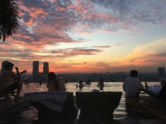 Marina bay sands #marinabaysands #singapore #infinitypool