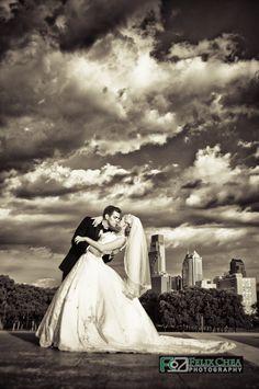 artistic wedding photography, Philadelphia wedding photographer.  www.FelixCheaPhotography.com