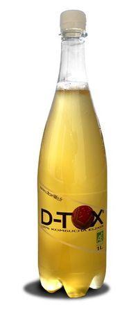 D-tox Kombucha-juoma detox ekolo