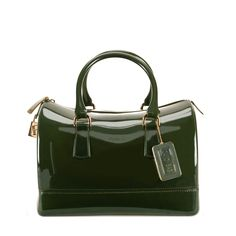 CANDY Satchel Olive Bags - Furla - United States