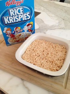 The Best Rice Krispies squares, with a few changes from the cereal box recipe to make them even more delicious!