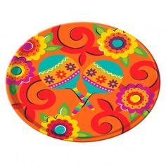 Cinco de Mayo Melamine Round Platter