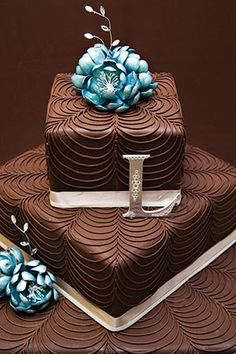 Love the piping style on this cake