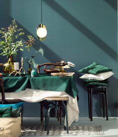 90 besten wohnzimmer petrol, grün, blau ° living room green blue ...