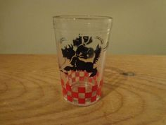 Cool Vintage Child us Hazel Atlas Glass Scottie Dog