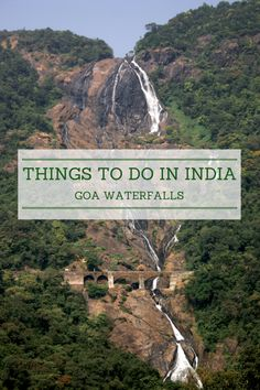 Things to do in India: Waterfalls in Goa