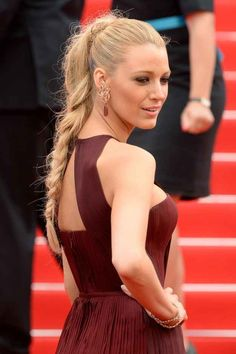 When she rocked the Barbie doll braid of your dreams.