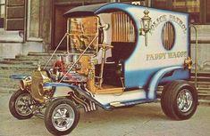 TV Beverly Hillbilly Hot Rod Custom Old Vending Card