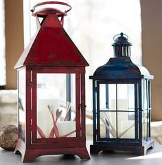 Palmetto Painted Lanterns