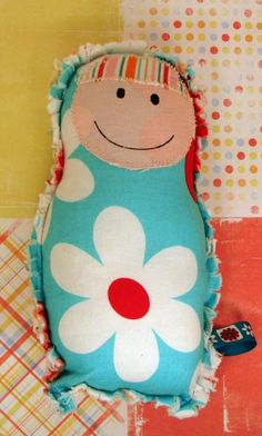 Plush Doll - Colette by madeonfifthstreet for $21.00