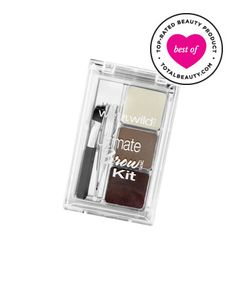 "Best Brow Product No. 11: Wet n Wild Ultimate Brow Kit, $3.99 TotalBeauty.com average member rating: 9.1*  Why it's great: ""This kit is amazing, and so inexpensive!"" one reviewer raves. ""It has a great mirror, the tweezers are actually very useful, the two shades of brow powder are great, as is the wax, and the little slanted brush is very good at applying powder.""   Other readers agree that the powders ""have a great formulation, are well pigmented and can be easily brushed out for a more na"