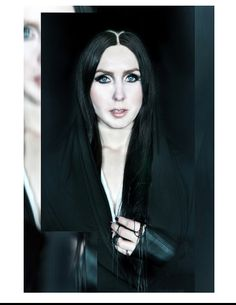 Chelsea Wolfe @CCHELSEAWWOLFE @cchelseawwolfe #chelseawolfe  #cchelseawwolfe myYUKIKO // EARTHLY WONDERS A/W13 featuring Chelsea Wolfe