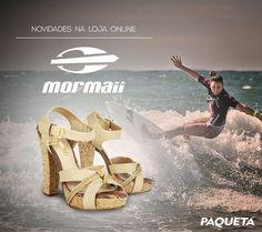 Seu sonho é viver na #praia? Então a #Mormaii tem tudo a ver com você! #Fashion #Shoes #Surf #beachweare
