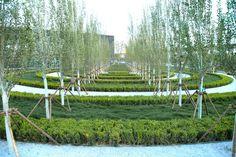 Beijing Garden Expo: Finite-Infinite   Ballistic Architecture Machine & Peter Walker Partners   Archinect