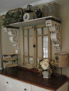Corbel bracket shelf floating ledge shelves antique French | Etsy