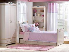 Cilek Flora M Bett I Das traumhafte Jugend - und Kinderbett von Cilek der Möbelkollektion Flora verkörpert pure Romantik. Einfach ein traumhaftes Bett für Traumtänzer und Wolkenfänger. Und für ebenso traumhaften Besuch, kann das... #kinder #jugendzimmer #jugendbett #cilek