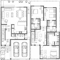 home layout plans 519391769527523182 - 68 Trendy House Layout Plans Bungalow Source by carineboncoin Duplex House Plans, House Layout Plans, Dream House Plans, Modern House Plans, Small House Plans, Floor Plan Layout, House Layouts, House Floor Plans, The Plan