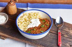 Lencsepörkölt, egy tök jó húsmentes kaja recept | Street Kitchen Chana Masala, Lentils, Risotto, Food Porn, Rice, Ethnic Recipes, Street, Cooking