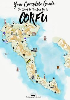 Things To Do and See in Corfu, Greece | Hand Luggage Only