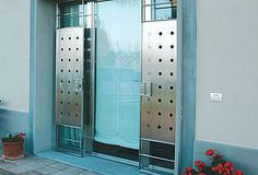 ION CONSTRUCTION | Architecture Design | Steel Structure Buildings | | DOORS & WINDOWS #Doors and #windows made of #stainless steel, #corten, #bronze and #steel in all types: #flap #windows, #lifting #sliding #doors, pivot openings and #curtainwalls
