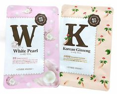 Mask pack Mask sheet White Pearl Mask Pack /Korean Ginseng Mask Pack ETUDE HOUSE