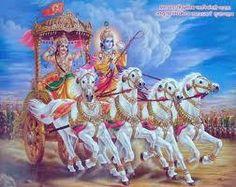 यदा यदा ही धर्मस्य ग्लानिर्भवति भारत, अभ्युथानम् अधर्मस्य तदात्मानं सृजाम्यहम् |    परित्राणाय साधुनाम विनाशाय च: दुष्कृताम, धर्मं संस्थापनार्थाय सम्भावामी युगे युगे ||