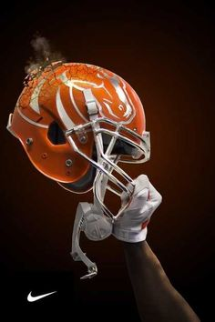 boise new 2014 orange helmets like christmas day for boise state football players bronco - Christmas Day College Football