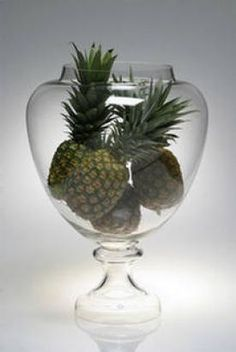"Who needs a silver trophy cup? Ours is heroic sized at 24"" tall and it's glass shape provides for all sorts of goodies."