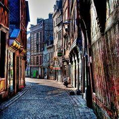 Street of Rouen - France