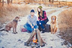Jessica Heller Photography | Bismarck ND Photographer | Winter Campfire Photography Portraits, Winter, Winter Time, Winter Fashion