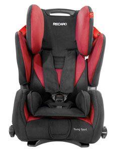 Recaro Young Sport Front View Baby Car Seats Car Seats Toddler Car Seat