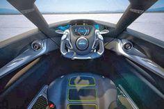 BladeGlider Concept - interior view