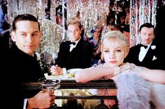 The Great Gatsby (2012) directed by Baz Lurhman. starring Leonardo DiCaprio, Tobey Macguire & Carey Mulligan. Can't get better than that!!