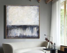 Oversize Abstract Painting On Canvas Beige Painting On Canvas Modern Painting Abstract Oil Painting On Canvas Wall Painting For Living Room Living Room Canvas, Beige Art, Modern Planters, Abstract Oil, Heart Art, Acrylic Painting Canvas, Cotton Canvas, Tapestry, Entryway