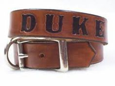 Items similar to Custom Leather Collars - Personalized - Personalized Dog Collars - Leather Dog Collars - Leather Collars for Dogs on Etsy Dog Collars & Leashes, Leather Dog Collars, Dog Collar Boy, Personalized Dog Collars, Custom Leather, Dog Names, Training Tips, Potty Training, Dog Supplies