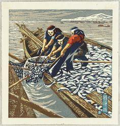 Sadao Abe  - Herring Fishermen 1950's
