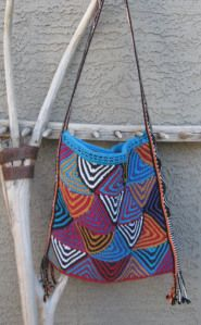 Patchwork Triangle Tote