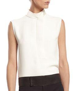 Gucci Black Fine Wool Tuxedo Jacket, White Silk Cady Shirt & Black Fine Wool Skinny Tuxedo Pant