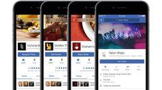 Facebookが一連の新機能を発表料理の宅配注文や映画チケット購入などニュース