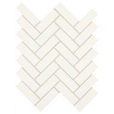 Daltile Restore Bright White 9 in. x 12 in. x mm Ceramic Mosaic Wall Tile sq./piece) - - The Home Depot Ceramic Mosaic Tile, Mosaic Wall Tiles, Glazed Ceramic, White Wall Tiles, Mosaic Pieces, Thing 1, Tile Installation, Mosaic Patterns, Medium