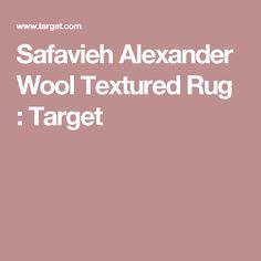 Safavieh Alexander Wool Textured Rug : Target