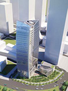 Minmetals Capital South China Tower Shenzhen, China In progress