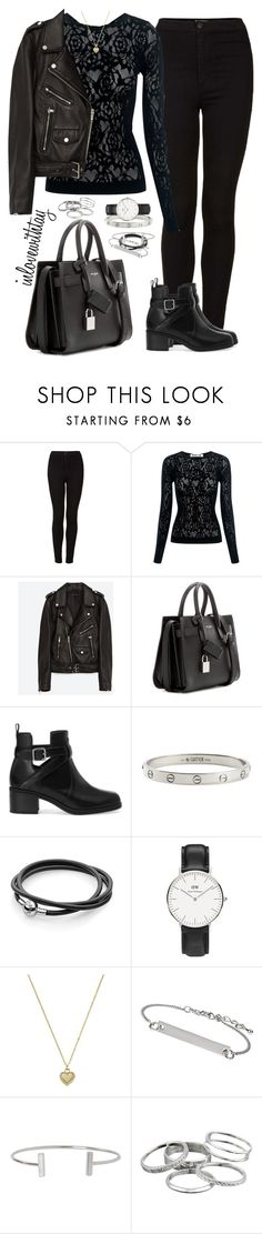 """59❤ (Taylor Swift Inspiration)"" by inlovewithtay ❤ liked on Polyvore featuring Topshop, McQ by Alexander McQueen, Jakke, Yves Saint Laurent, Pull&Bear, Cartier, Daniel Wellington, Michael Kors, Humble Chic and Kendra Scott"