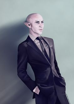 """itskabe: """" As much as I love drawing Diner Solas, Solas in a suit is pretty ok too. Dragon Age Solas, Dragon Age 2, Grey Warden, Dragon Age Series, Dragon Age Inquisition, Shadowrun, Love Drawings, Dreads, Pop Culture"""