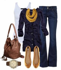 Cute casual outfit. Long shirt is the perfect touch to this. Not to crazy about flats but it goes with the outfit.