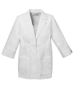 "29"" 3/4 Sleeve Lab Coat"